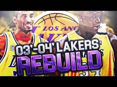 SUPER TEAM 03-04 LA LAKERS REBUILD! NBA 2K18 MY LEAGUE
