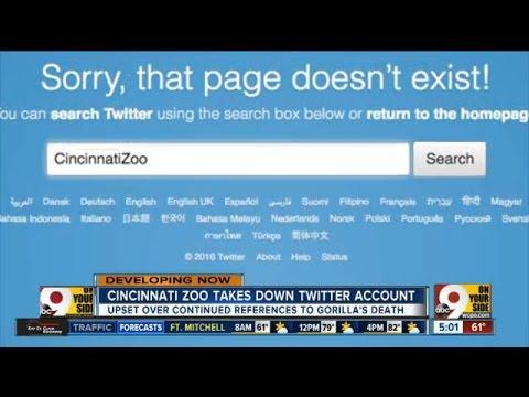 Cincinnati Zoo takes down Twitter account