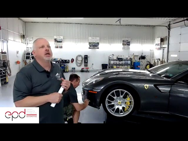 Ferrari Club of America - 3M Technical Zoom Meeting