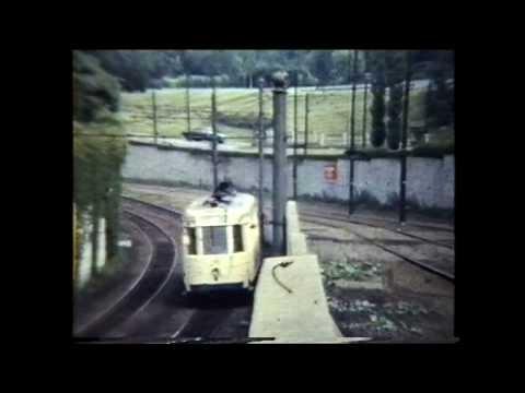 Brussels Trams in 1965