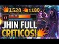 ¡ESTA RUNA Y DOBLE FILO INFINITO SON FREE WIN | JHIN OSCURIDAD CÓSMICA! | League of Legends