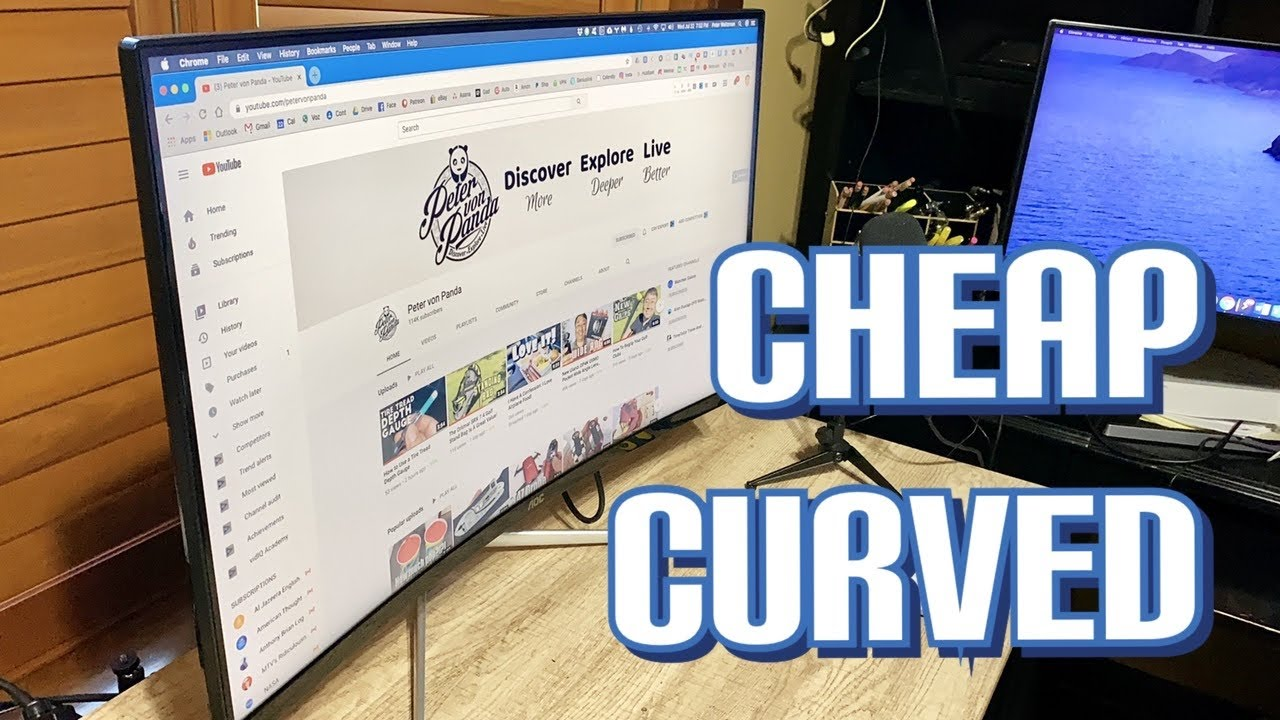 "Cheap AOC 32"" Curved Monitor Review"
