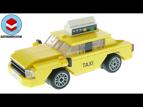 Lego Creator 40468 Yellow Taxi - Lego Speed Build Review