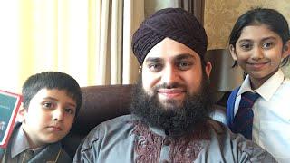 Hafiz Ahmed Raza Qadri | Live with British Kids | Ibrahim & Zainab from London | Jummah Kareem