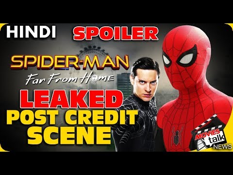 Spider-Man Far From Home : Leaked Post Credits Scene Details Part 1 [Explained In Hindi]