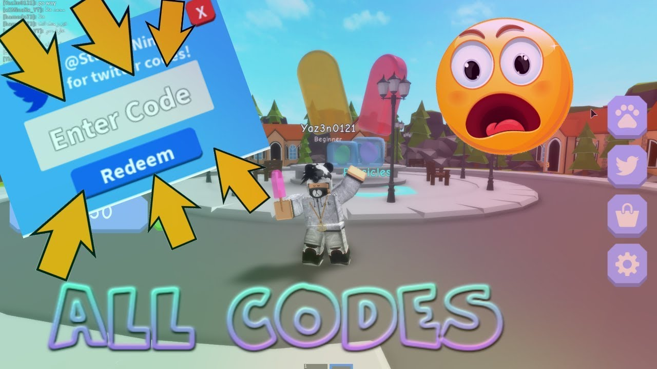 ALL NEW WORKING CODES IN POPSICLE SIMULATOR!!!! (ROBLOX)