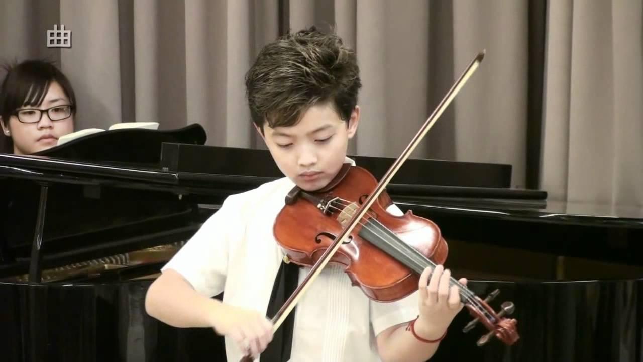 01-新民國小-葉祐林-韋瓦第a小調小提琴協奏曲- 第一樂章 - YouTube