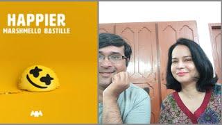 Pakistani react on Marshmello Ft  Bastille - Happier | AA reactions