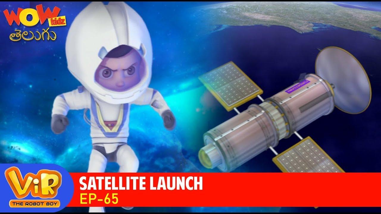 Download Vir: The Robot Boy Cartoon In Telugu | Telugu Stories | Wow Kidz Telugu | Satellite Launch