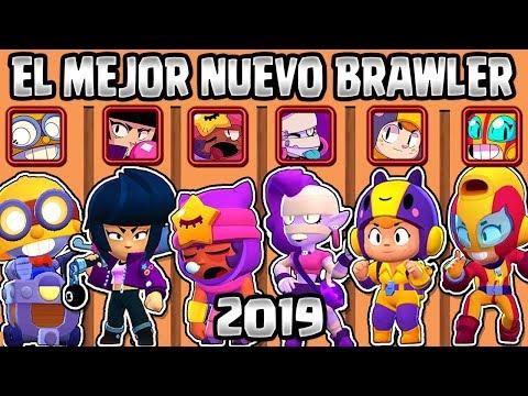 CUAL ES EL MEJOR NUEVO BRAWLER Del 2019 | OLIMPIADAS De BRAWLERS NUEVOS | BRAWL STARS