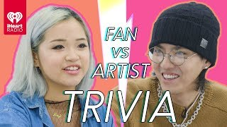 Kris Wu Challenges A Super Fan In A Trivia Battle | Fan Vs. Artist Trivia