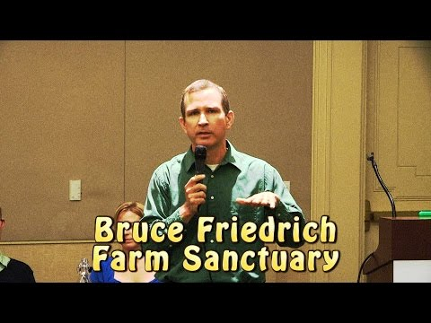 The Power of Vegan Advocacy by Bruce Friedrich at 2014 Animal Rights National Conference