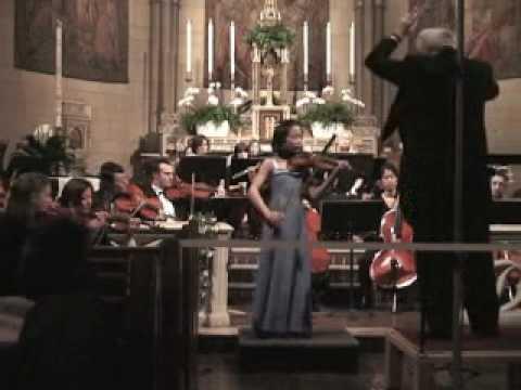 "Manami Violin Solo Tchaikowsky's ""Meditation"""