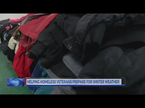 Jacksonville event helps homeless vets prepare for winter weather