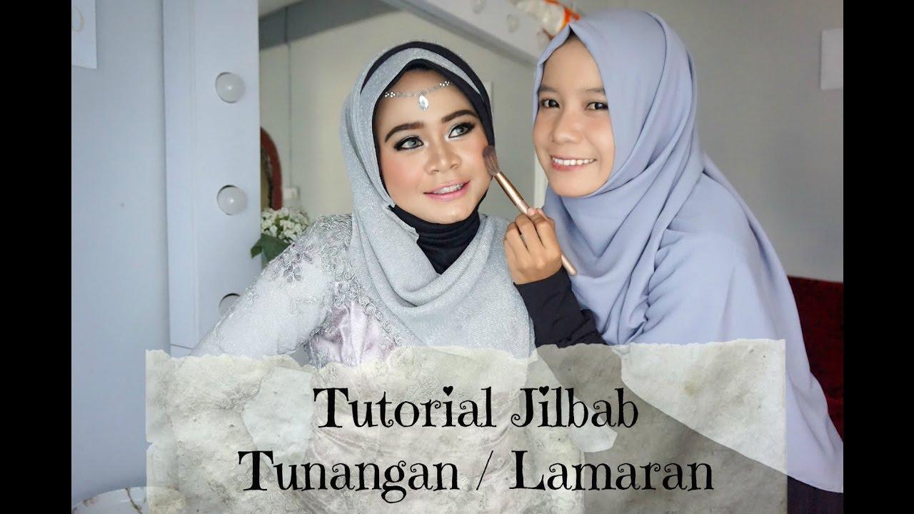 Tutorial Jilbab Tunangan Lamaran Alyn Devian YouTube