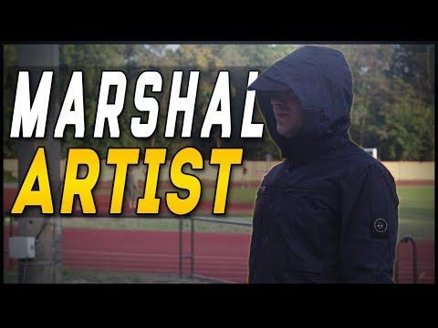 Marshall Artist Ripstop Overshirt Navy - Кэжуальный Маршал