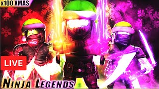 Free Christmas Ninja Legends Awakened Pet Codes Roblox Christmas Update Ninja Legends Elemental Giveaways Roblox Live Stream 22dec2019
