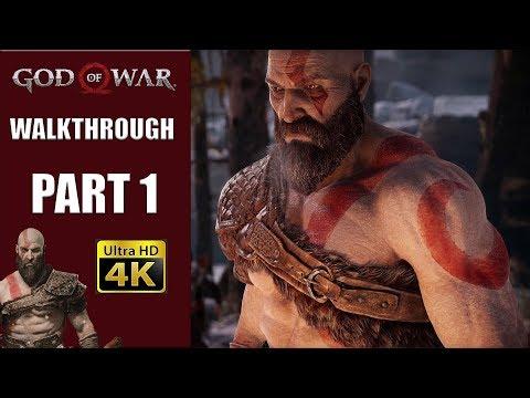 "GOD OF WAR | Walkthrough Part 1 ""A Man and His Tree"""