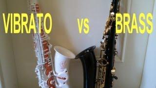 Comparison Vibrato A1S vs. brass saxophone #2