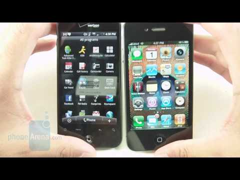 Apple iPhone 4 vs. HTC Droid Incredible