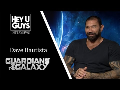 Dave Bautista Interview - Guardians of the Galaxy