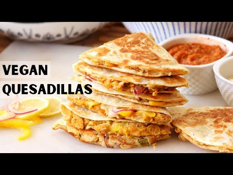 Vegan Quesadilla Recipe