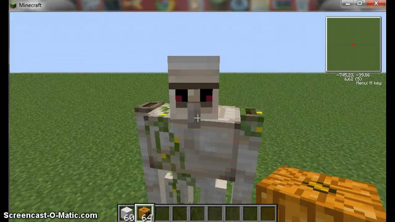 Minecraft como crear 3 criaturas sin mods youtube - Decoraciones para minecraft sin mods ...