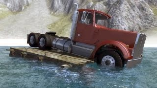 Wooden Raft - BeamNG.drive