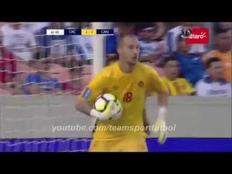 Коста-Рика - Канада 1:1 видео