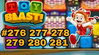 Toy Blast 276 277 278 279 280 281 Game Play Puzzle Boosters iCandyRich