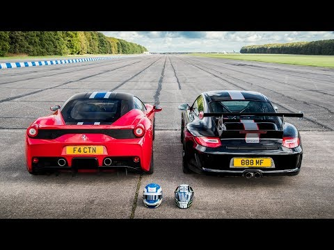 458 SPECIALE vs GT3 RS 4.0 - ULTIMATE DRAG RACE