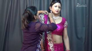 How To Wear Saree In Party Season | Dancing Style Sari To Look Hot With Heels