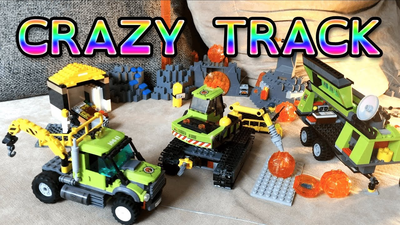 Excavator save crazy Track - Lego Toys