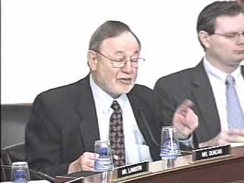 Congressman Young Speaking During a Subcommittee on National Parks Hearing (pt. 1)