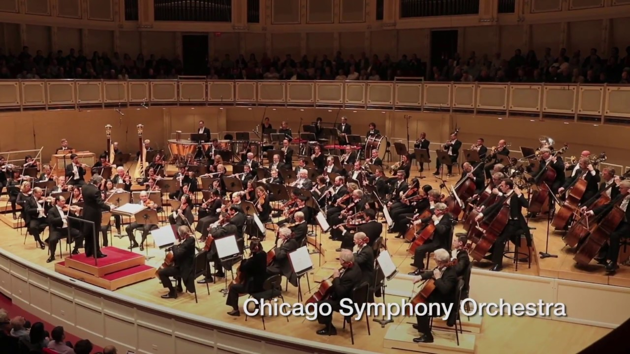 cal performances 2017/18 season: chicago symphony orchestra