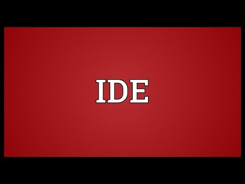 IDE Meaning