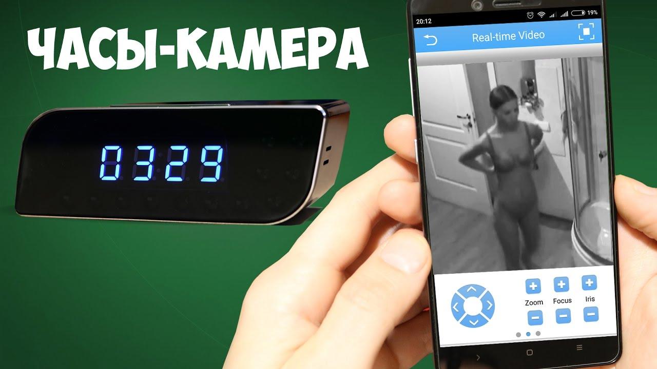 Видео скрытая видеокамера дома