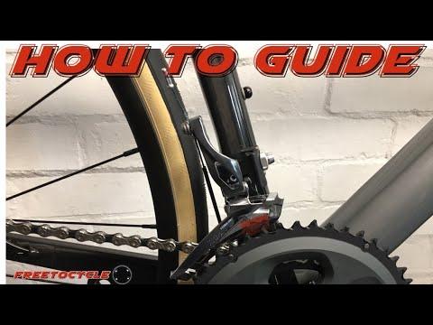 Shimano Tiagra 4700 Front Derailleur Fitting Guide