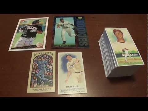 Baseball Card Mailday Sandoval auto Alex Rodriguez Dale Murphy