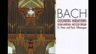 bach goldberg variations organ