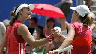 Martina Hingis vs Justine Henin 2006 Sydney Highlights