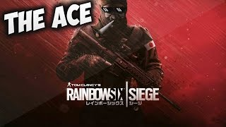 Rainbow Six Siege - PS4 The Blackbeard ACE (Ranked Gameplay)