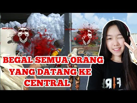 CEWEK DITINGGAL SOLO VS SQUAD - FREE FIRE BATTLE GROUND