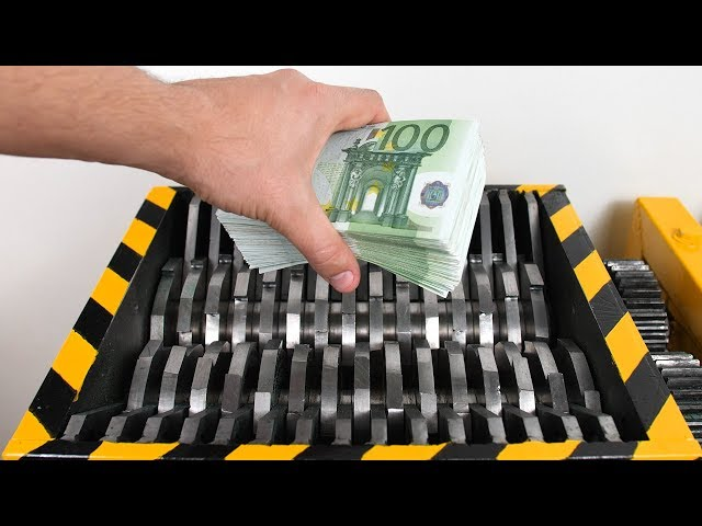 NEVER DO THIS! - Shredding REAL Money