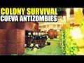 CUEVA ANTIZOMBIES Y BOSQUE LETAL - COLONY SURVIVAL | Gameplay Español