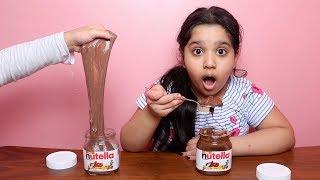 تحدي الاكل حقيقي ضد السلايم !!!  real food vs slime food challenge