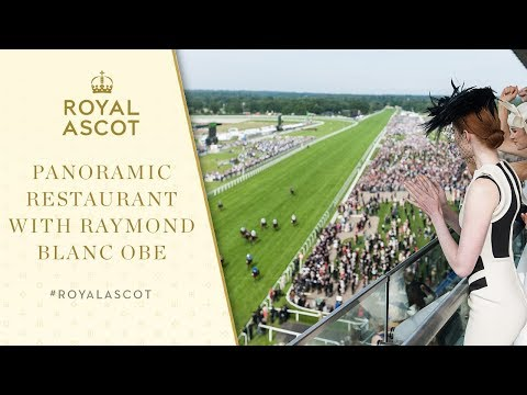 Royal Ascot Fine Dining | The Panoramic Restaurant With Raymond Blanc OBE