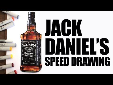 Jack Daniel's Speed Drawing