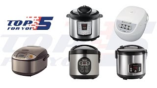 Top 5 Best Rice Cookers For Home Use 2017 - 2018