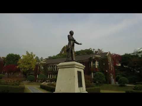Yonsei University 연세대학교 Seoul Campus Tour Oct 2018